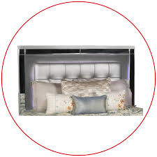 Lighted Headboard Furniture Valentino Bed With Lighted Headboard Adams Furniture