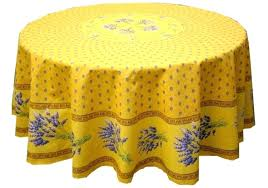 country tablecloths round woven