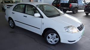 2004 Toyota Corolla Ascent ZZE122R (White) for sale in Port ...
