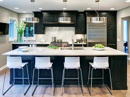 Modern Black Kitchen Cabinets Modern Kitchen Paint Colors Pictures Ideas From Hgtv Hgtv