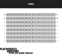 Peter Jay Sharp Theatre Seating Chart Playwrights Horizons Peter Jay Sharp Theater