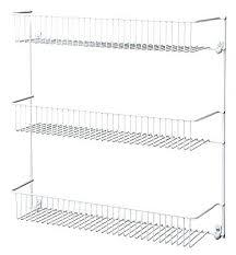door mounted shelves shelves small wire shelf wire shelving hacks wire wall  rack utility 3 shelf