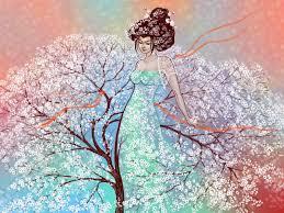 Wallpaper Girl Flowers Beautiful Hd Widescreen High
