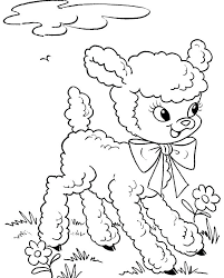 Large Print Easter Coloring Pages Bunny Coloring Page Coloring Pages