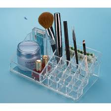 plastic makeup organizer put bathroom: buy low price  acrylic  grid packaging box for jewelry exquisite font b makeup b font case jewelry organizer