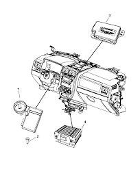 2014 jeep pass modules instrument panel