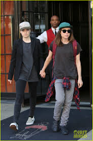 Ellen Page & Girlfriend Emma Portner Hold Hands in NYC: Photo 3957431 | Ellen  Page, Emma Portner Pictures