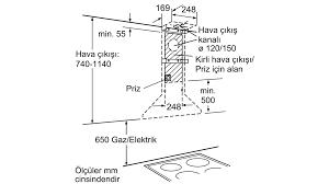 SIEMENS - LC40955 - Duvar Tipi Davlumbaz