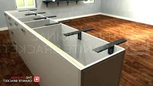 support granite countertop support bracket makes float