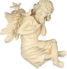 Amazon.com: AngelStar 3-1/2-Inch Inspiration of The Month April Angel, Joy:  Home & Kitchen