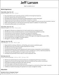 Sample Resume For Business Analyst In Australia Augustais