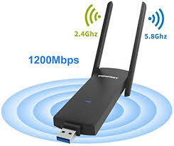 <b>COMFAST</b> WiFi Dongle <b>CF</b>-926AC 1200Mbps Wireless USB WiFi ...