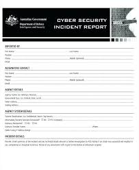 Security Report Template