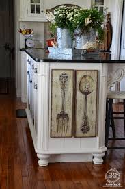 Gingerbread Kitchen Curtains Kitchen Art Stonegable