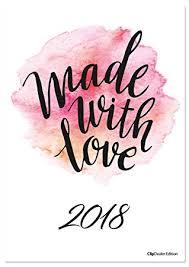 Typographie Kalender 2018 Sprüche Kalender Statements Kalender