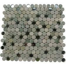 soho studio corp vision mosaic circles ming green with mirror