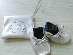 After Party Shoes Vending Machine Magnificent Women's Leather Split Sole Rollable Foldable Comfortable Dance