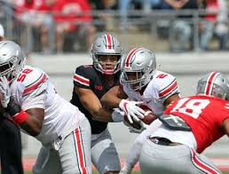 Ohio State Spring Game Depth Chart Ohio State Spring Football Offensive Recap Two Deep Depth