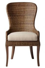 wicker frames are most monly found on dining chairs meant for patio use but the