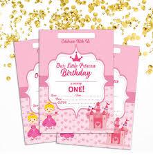 Amazon Com Darling Souvenir Pink Birthday Invitation Card