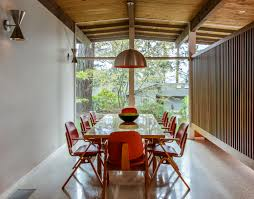 mid century modern furniture portland. the long dining table has eight midcentury modern chairs surrounding it mid century furniture portland m