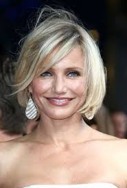 short bob hairstyles for women over 40