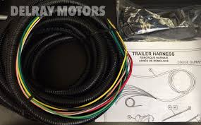 oem mopar 7 way connector trailer tow wiring harness 2014 dodge 2014 dodge durango wiring diagram at 2014 Durango Trailer Wiring Harness