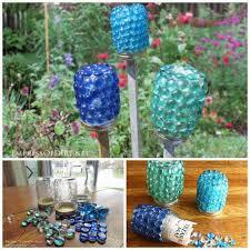 garden crafts. 20 Best DIY Garden Crafts - Treasure Jars E