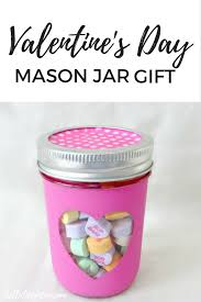 valentine s day teacher gift this adorable and super easy to make mason jar gift is