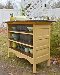 Diy bookcase kitchen island Butcher Block Turn An Antique Dresser Into Kitchen Islandawesome Upcycled Repurposed Kitchen Fun With My Sons 20 Of The Best Upcycled Furniture Ideas Kitchen Fun With My Sons