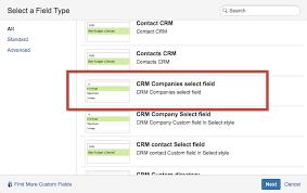 The Custom Companies Custom Field Crm Companies Select Crm For Jira En