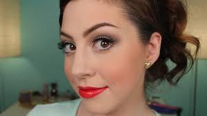 dance cheer makeup tutorial for recitals peions