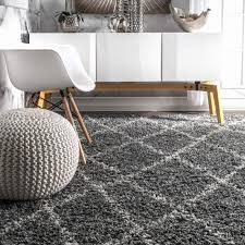 nuloom alexa ivory grey moroccan trellis rug 8 x 10 free today