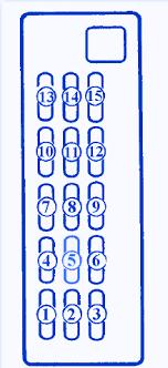 mazda 626 ge fuse box diagram mazda wiring diagrams online