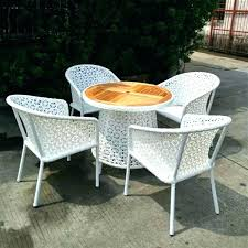 round plastic patio table white garden furniture for cheap home sets21