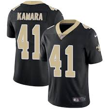 Black Kamara Saints Orleans - Jersey Men's 41 Limited Home Alvin Vapor New Football Untouchable
