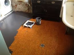 Paint Tile Floor Laundry Room With Dark Gray Colors Nice Look