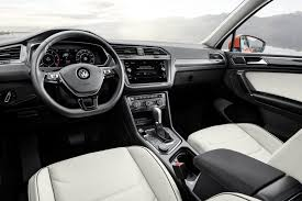 2018 volkswagen tiguan interior. unique tiguan styling inside and out have been given a thorough rethink in the allnew 2018  volkswagen tiguan automaker has updated vehicleu0027s safety  on volkswagen tiguan interior