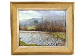 Bernard Higgs - 'View on the River Fowey', signed lower right and ...
