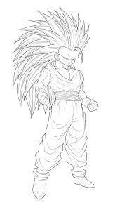 Coloriage Sangohan Petit Ancenscp Coloriage Dessin Ado Dragon Ball