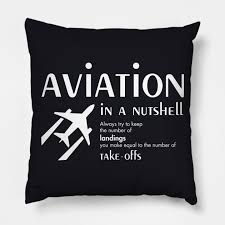 gifts for pilots funny pilots sayings gifts pillow