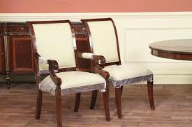 gany regency style chairs solid gany frames