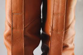 womens office ace slouch boots tan leather boots