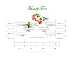 Microsoft Word Tree Diagram Template Fresh Printable Family Tree ...