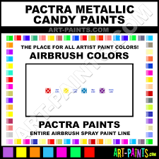 Pactra Paint Chart Pactra Metallic Candy Airbrush Spray Paint Colors Pactra