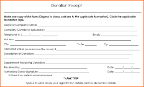 donation receipt forms 6 tax deductible donation receipt template return receipt form