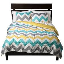 turquoise and yellow bedding. Simple Turquoise Gray White Yellow Turquoise Chevron Zig Zag Queen Comforter And Shams 3  PC Bedding Intended And N