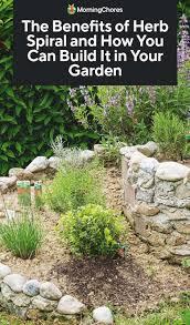 build a herb spiral in your garden