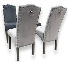 Amazonde Generic Set Von 2 Qualität Knockerback Samt Stühle