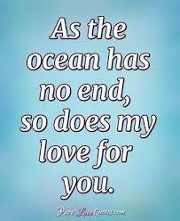 My Love For You Is Deeper Than The Oceans And Higher Than The Enchanting Quotes About The Ocean And Love